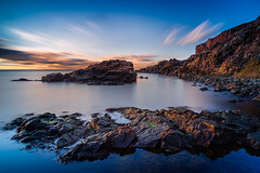_DSC1310_900 [EXPLORE] (MagnusL3D) Tags: ocean sunset sea sky cliff cloud nature water rock stone clouds zeiss outdoors golden evening skne nikon rocks view sweden outdoor stones norden cliffs explore nordic sverige utsikt suede havet hav kullaberg skane kvll skaane explored leefilter leefilters skaune distagont2821 bigstopper leebigstopper d800e