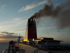 Stena Line. Stena Europe. (Drive-By Photography) Tags: ferry smoke line rosslare funnel stena fishguard clag stenaeurope
