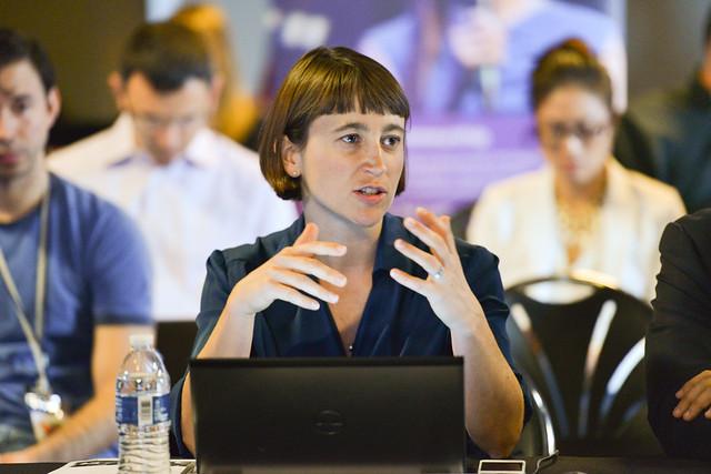 Suzi Sosa, moderator for the Dell Social Innovation Think Tank