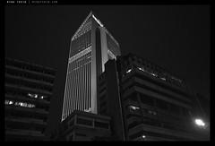 _R020083 copy (mingthein) Tags: blackandwhite bw abstract building monochrome architecture night digital dark geometry availablelight v malaysia gr kuala kl ming ricoh lumpur maybank onn 2013 apsc thein photohorologer mingtheincom