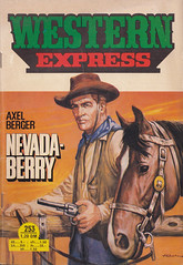 Western-Express 253 (micky the pixel) Tags: western pulp westernexpress groschenroman dimenovels groschenheft wildwestroman axelberger indraverlag nevadaberry