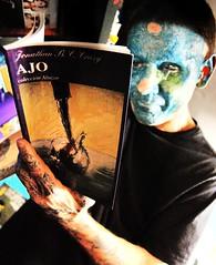 AJO (Marta Marley) Tags: tattoo book libro piercing tat tatuaje ajo facetattoo tuerto facepiercing facialtattoo tatuajefacial martamarley