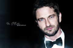 Gerard Butler Art 126 (Evita Art) Tags: wallpaper black art hollywood butler actor gerard gerry