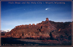 HaleBopp Comet-Holy City (planet.cody) Tags: holycity wapitiwyoming absarokarange comethalebopp