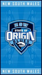 NSW State of Origin iPhone Wallpaper (Rob Masefield (masey.co)) Tags: wallpaper blues nsw qld iphone stateoforigin maroons