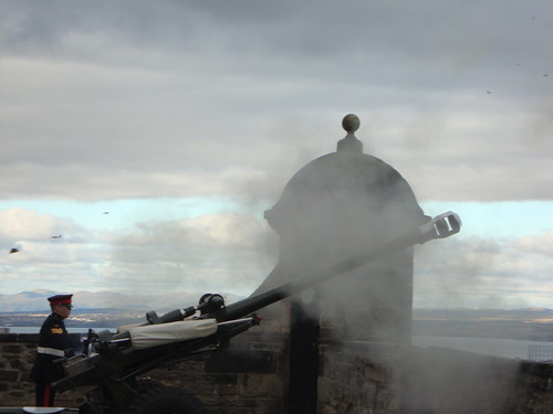 The One o'clock Gun, Edinburgh Castle