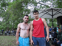 wrestlers/ Arethusa /Thessaloniki Greece (d.mavro) Tags: shirtless sexy beautiful greek spring nipples body wrestling traditional north handsome hunk greece grecia thessaloniki torso wrestler biceps wrestle hommes homme greco arethusa grecoroman hansome gre  gures