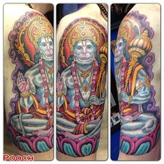 4 1/2 hours #hanuman #hanumantattoo