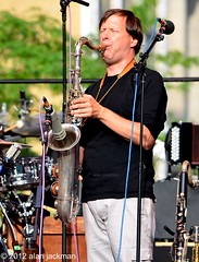 Chris Potter, Pat Metheny Unity Band with Chris Potter, Antonio Sanchez & Ben Williams, 2012 Detroit Jazz Festival (jackman on jazz) Tags: alanjackman jackmanonjazz nikond7000 d7000 chrispotter unityband patmethenyunityband detroitjazzfestival detroitinternationaljazzfestival sax saxophone sasso tenorsax tenorsaxophone brass horn