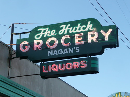 THE HUTCH GROCERY AND LIQUORS ARCATA CALIF
