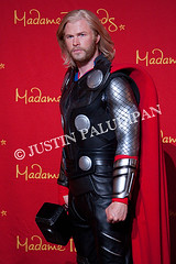 Thor Wax Figure as portrayed by actor Chris Hemsworth (paludipan) Tags: usa lasvegas nv thor chrishemsworth thorwaxfigure