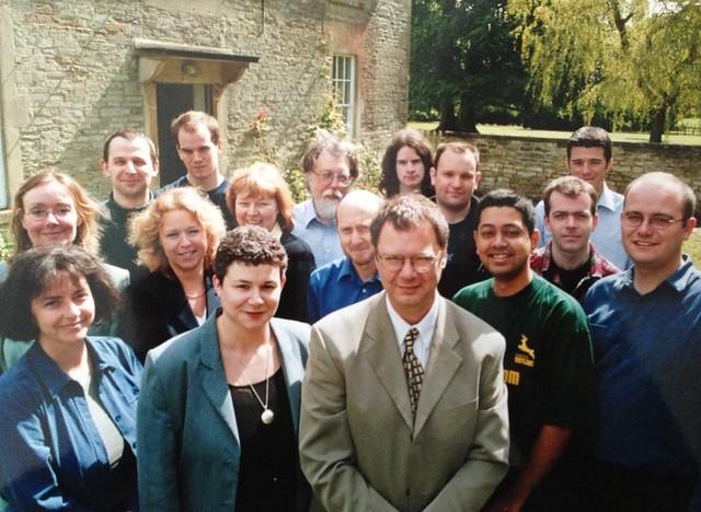 CricInfo circa 2001 at Hartham Park