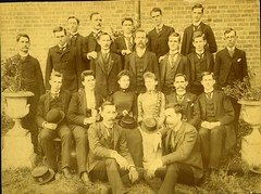 Trinity College Class of 1892 (Duke Yearlook) Tags: students northcarolina 1890s 1892 trinitycollegerandolphcountync