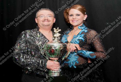 Erik Power and Dervla Walsh, winners of the Latin American section of Deise Dancing