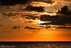 Golden Sea (BlueLunarRose) Tags: light sunset sea sky sun sunlight seascape clouds skyscape twilight mediterranean waves rays beams sal75300 sonyalphadslra200 suntwilight bluelunarrose