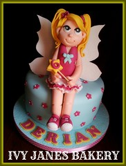 LITTLE FAIRY (Ivy Jane's Bakery) Tags: girls cake pretty wand fairy winx