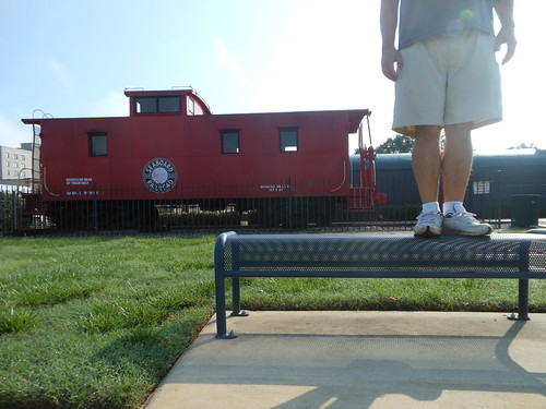 Bench Monday: Check Out My Caboose Edition