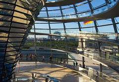 Reichstag Dome Interior II (Paul 'Tuna' Turner) Tags: city travel vacation holiday berlin history architecture germany deutschland europe eu parliament historic reichstag german dome government historical bundestag mitte tiergarten europeanunion houseofparliament deutsch sirnormanfoster historicbuilding capitalcity neoclassicalarchitecture paulwallot germangovernment neobaroquearchitecture
