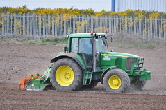 John Deere 6620 Tractor with Amazone Power Harrow (Shane Casey CK25) Tags: county ireland horse irish tractor green field work john outside bed hp power with farm cork farming working seed 6620 soil till crop land farmer agriculture maize deere preparing midleton harrow tilling amazone agri tillage