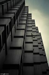 Building (L'Empreinte Photographie - URBEX) Tags: city building alpes grenoble town geometry relief villa immeuble metropole