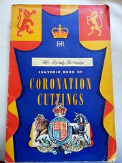 Scrap Book (PD3.) Tags: uk family england london television chair edinburgh britain great royal duke charles prince palace queen celebration queens crown buckingham philip 60 sixty 1953 coronation consort consorts hmsedinbrough