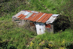 Rust Is The New Black! (Munki Munki) Tags: rust shed corrugatediron staithes outbuilding precarious