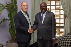WIPO Director General Meets Senegal's Minister of Culture (World Intellectual Property Organization (WIPO)) Tags: senegal wipo ompi directorgeneral francisgurry diplomaticconference