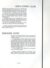 Education Club and English Club (Hunter College Archives) Tags: english students club 1936 education yearbook clubs hunter activities englishclub huntercollege studentorganizations organizations studentactivities studentclubs educationclub wistarion studentlifestyles thewistarion