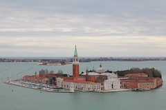 San Giorgio Maggiore, Venice (a1ex2001) Tags: morning venice italy tower church st island san view bell marks maggiore giorgio sangiorgiomaggiore canoneos5dmkii canoneos70210mmf4