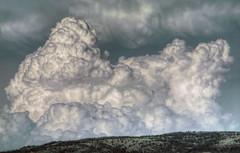 Cloud and Ridge (turbguy - pro) Tags: clouds wyoming laramie allxpressus