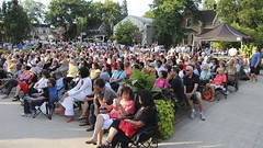 North of 7 crowd (Unionville BIA) Tags: street music ontario concert outdoor live main crowd north 7 nights bandstand thursday markham unionville