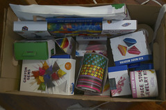 Craft Box (BrianinLR) Tags: box tape target crayons supplies toddoldham carft