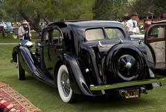 1937 MG SA Saloon - rear (Pat Durkin OC) Tags: sa saloon losangelesconcours propercars 1937mg