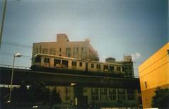 (pablotastebudz) Tags: california film 35mm downtown metro lightleak losangles metrorail chintown cameracreeps