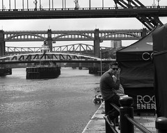 Tom Cruising (jonny violence yeah?) Tags: street urban blackandwhite bw newcastle rebel market candid bridges tomcruise quayside wayfarers canon550d