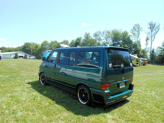vw volkswagen connecticut terryville 2013 vweurovan passengervan bugafair vr6engine mark4transporter hotrodstyled