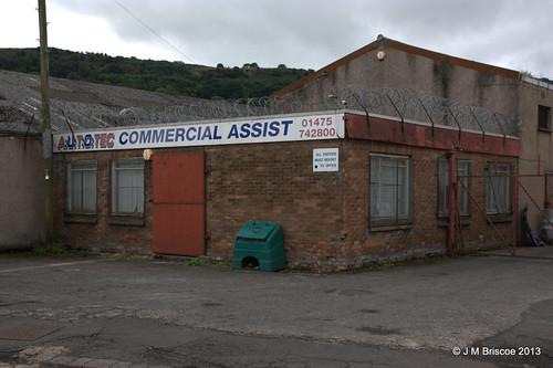 Warehouses, West Quay, Port Glasgow
