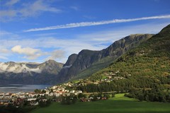 Fjords of Aurland, Norway