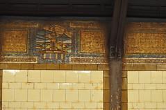 Broadway BMT City Hall (Triborough) Tags: nyc newyorkcity ny newyork subway tile cityhall manhattan mosaic mta lowermanhattan civiccenter bmt nycsubway nycta newyorkcounty nyctransit broadwayline nyctnewyorkcitytransitauthority