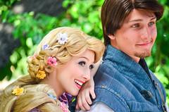 Flynn and Rapunzel (EverythingDisney) Tags: princess disneyland prince disney eugene rapunzel dlr tangled flynnrider princessrapunzel eugenefitzherbert