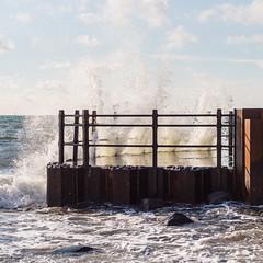 Southern Splash (Hkan Dahlstrm) Tags: sea photography se skne sweden cropped splash f56 stersjn 2015 udde smygehuk sveriges skneln smygehamn sydligaste canoneos100d sek ef40mmf28stm trelleborg 8301022015120501