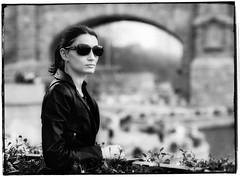 *** (@CityZen) Tags: street portrait blackandwhite bw nikon 85mm twop d90 f18d