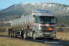 Carntyne Transport Mercedes SD13 XBE (Kilmachalmag) Tags: truck mercedes whisky distillery tanker invergordon