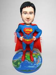 QFIGURE (www.figure-concept.com) Tags: handmade superman figure figurine    q   q   q  figureconcept figureconceptcom   figureq