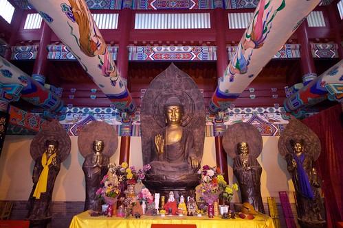 Great Buddha Hall (弥陀宝殿, mítuó bǎodiàn)