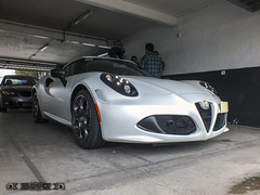 Alfa Romeo 4C '14 (GonzaloFG) Tags: detail slr ford chevrolet car sport skyline honda spain italia nissan evolution ferrari camaro mclaren enzo bmw gto jaguar mustang m3 ducati audi lamborghini rs m6 m5 challenge avant v8 rs2 spotting s2000 e30 nsx gallardo amg drifting rs4 typer gtr trackday murcielago etype quattro gt40 f40 r8 f12 rs6 v12 f50 cosworth nismo e46 r34 e36 berlinetta superleggera 458 899 m3csl desmosedici panigale ftype 275gtb rs3 e92 circuitodeljarama stralade m235i