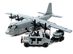 Lego AC-130 Gunship - YouTube