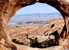 Arches National Park (Digitized 35mm slide from 1980) (dmeeds (on and off)) Tags: archesnationalpark