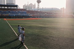 Field of dream (airborne132) Tags: film 35mm baseball pentax limited c200 31mm