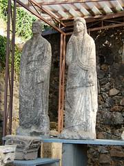 Statues found near Porta Nocera tombs, Pompeii